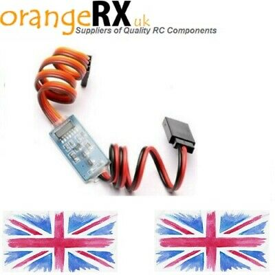 RC Receiver Operated Electronic On Off Switch RC Remote Control Switch LEDs Etc