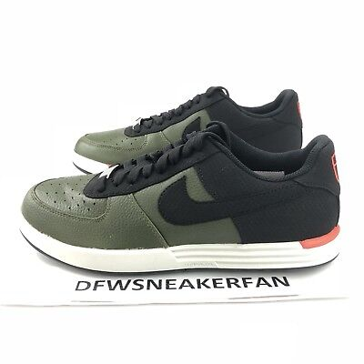 new product 8f14b 96e5e NIKE LUNAR FORCE 1 G Size 8 Golf Shoes 818726 300 Black Cargo Khaki
