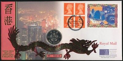 Great Britain: & Hong Kong 1997 Handover $5 PNC