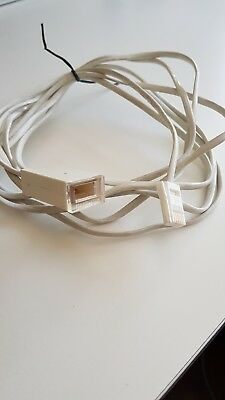 3m and 10m BT Telephone Extension Cable Lead Phone Fax Modem UK