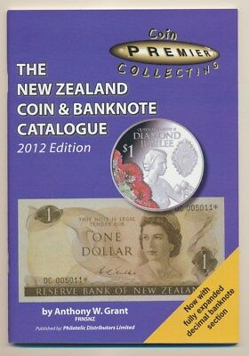 New Zealand: Coin & Banknote Priced Catalogue A W. Grant 80 pgs. New