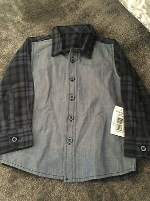 Brand New Baby Boys Shirt Age 12-18 Months