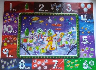 Leap Frog Math Mission Write-On Floor Puzzle 36pc 13611