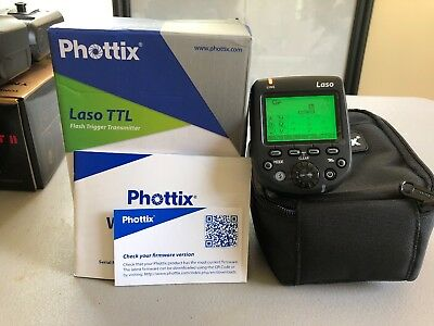 BRAND NEW!!! Phottix Laso TTL Flash Trigger Transmitter for Canon (PH89092)