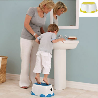 New Bumbo Step Stool Lime Encourages Independence Slip Proof Multipurpose