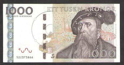 SWEDEN   1000   KRONOR  2005  UNCIRCULATED    P 67a