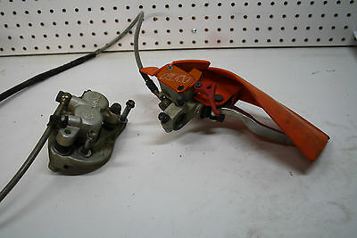 KTM 2004 04 450SX 450 SX front Brake master cylinder and caliper