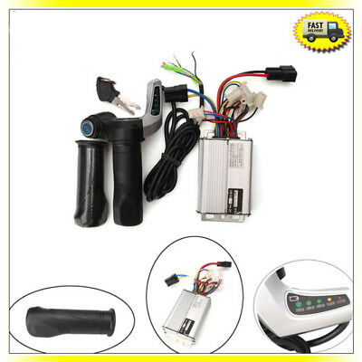 48V 1000W Electric Speed Controller Scooter E-Bike Motor w/Throttle Twist Grips