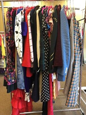Vintage Clothing 36 Piece Lot Mens Womens 50s-00s