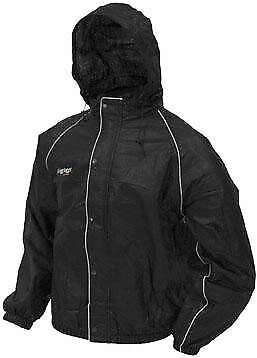 Frogg Toggs Road Toad Jacket(Foul Weather Gear) BLACK size SMALL (50-7825)