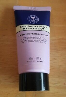 Neal's Yard Remedies Geranium & Orange Hand Cream 50ml BRAND NEW & SEALED