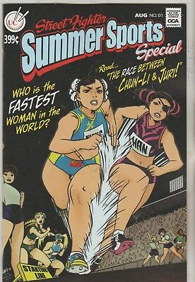 Udon Comics Street Fighter Summer Sports Special Aug 2018 1:10 Ri Variant Nm