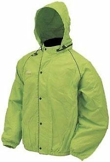Frogg Toggs Road Toad Jacket(Foul Weather Gear) LIME GREEN  size XL (50-7834)
