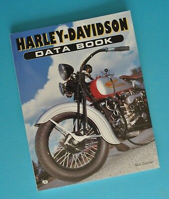 1903-96 Harley Data Book Manual 8D 10E JDH FD VL UL ULH WA EL FL FLH Rick Conner