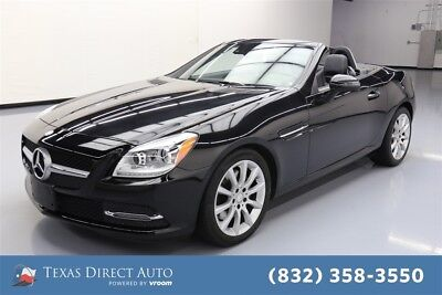 Mercedes-Benz SLK-Class SLK 300 Texas Direct Auto 2016 SLK 300 Used Turbo 2L I4 16V Automatic RWD Convertible