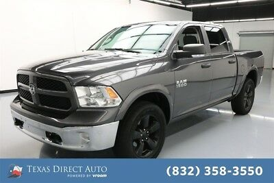 Ram 1500 Outdoorsman Texas Direct Auto 2016 Outdoorsman Used 3.6L V6 24V Automatic 4WD Pickup Truck