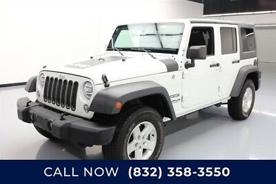 Jeep Wrangler Sport Texas Direct Auto 2016 Sport Used 3.6L V6 24V Automatic 4WD SUV