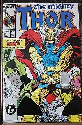 Mighty Thor # 382 , Classic Simonson Run High Grade Copy