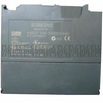 Used tested work 100% Siemens 336-1HE00-0AB0 6ES7336-1HE00-0AB0 PLC