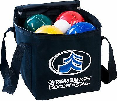 Park & Sun Sports Bocce Ball Set with Deluxe Carrying Bag: Tournament Elite
