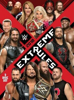 WWE: Extreme Rules 2018 [New DVD] Ac-3/Dolby Digital, Amaray Case, Dolby