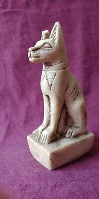 Bast Egyptian Cat Goddess Bastet Statue Egypt Ancient Figurine Sculpture