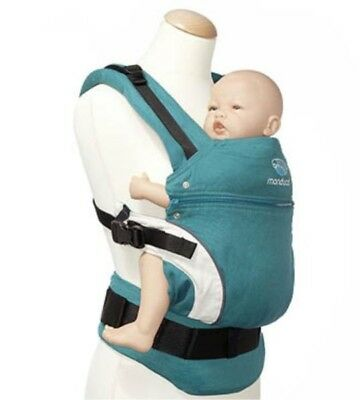 Manduca My Baby Carrier Petrol Blue With Box And Instructions