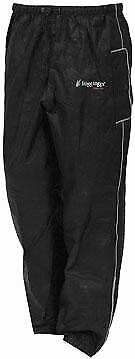 Frogg Toggs Road Toad Pants (Foul weather gear) BLACK size SMALL (50-7836)