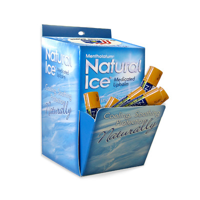 Natural Ice Medicated Lip Protectant / Sport Sunscreen SPF 30 Multi-pack (48ct)