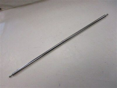 "BIMINI ADJUSTABLE SUPPORT POLE STANCHION STAINLESS STEEL 24 3//4/"" TO 31/"" BOAT"