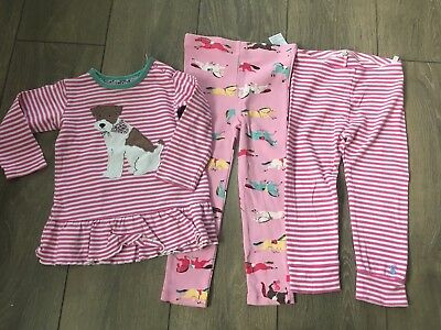 Baby Girl Joules Top And Leggings Age 18-24 Months