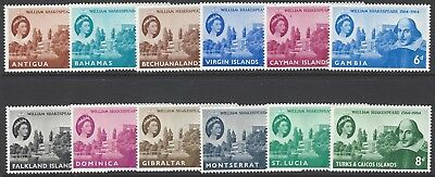 COMMONWEALTH 1964 Shakespeare Omnibus collection VF unmounted mint MNH stamps