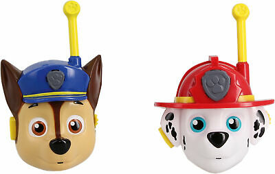 Neu KD Games Paw Patrol Walkie Talkie 3D 8786872