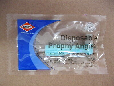 Disposable Prophy Angles Soft - Lot of 279 - Darby Dental - 90 degree