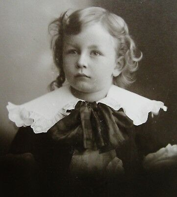 Cabinet Photo Of An Exceptionally Beautiful Dapper Little Boy East Saginaw Mich