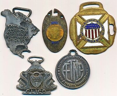 Vintage Insurance Company Identification Tags