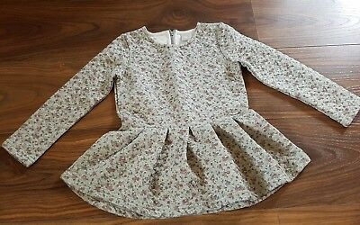 Girls 3-4 years floral dress