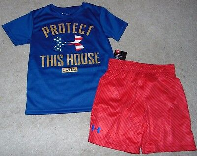 ~NWT Boys UNDER ARMOUR Outfit! Size 5 Nice:)!