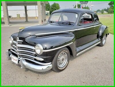 Plymouth 5-Window Deluxe Business Coupe 1948 Plymouth 1948 Plymouth 5-Window Deluxe Business Coupe 350 V8 Automatic 48