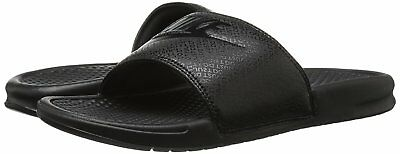 Nike BENASSI JDI Mens Black/Black-Black 343880-001 Slide Sandals