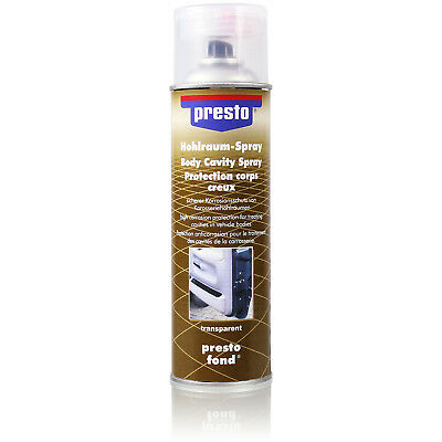 Presto Body cavity protection transparent Spray with Oxygen Sealing 1337905