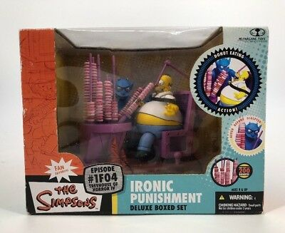 THE SIMPSONS #1F04 Ironic Punishment Deluxe Boxed Set The House Of Horror IV