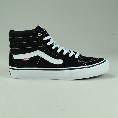 Vans Sk8 Hi Pro Trainers Shoes in Black/White in UK Size 4,5,6,7,8,9,10,11