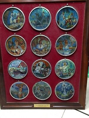 Greatest Story Ever Told stain glass collection