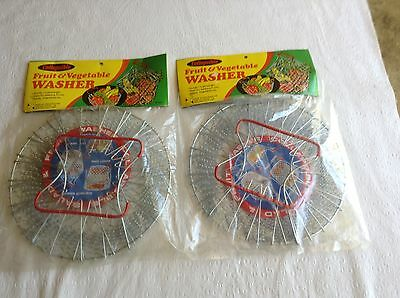 """Collapsible Fruit & Vegetable Washer """"vintage"""" Made in Hong Kong Still in Factor"""