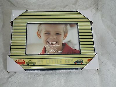 """Picture Photo Frame By Sonoma My Little Guy 4"""" x  6"""" 10.2cm x 15.2cm New"""