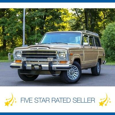 Jeep Wagoneer Grand Wagoneer 4x4 Woody Serviced CARFAX 106k MI V8 1990 Jeep Grand Wagoneer 4x4 Woody Serviced CARFAX Low 106k MI V8