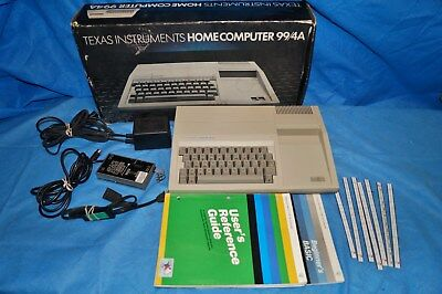 Texas Instruments TI-99/4A Home Computer Console With Power Supply UNTESTED