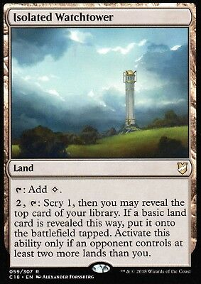 Isolated Watchtower   NM/M   Commander 2018   Magic MTG