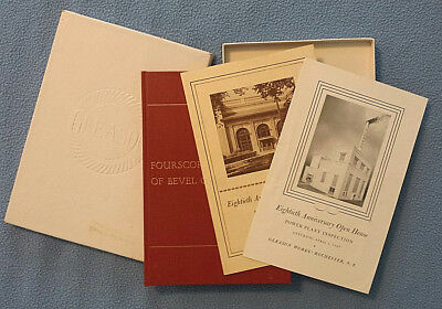 Gleason Bevel Gearing 80th Anniversary History book &pamphlets 1945 Rochester NY